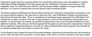 IHSA-Statement-Brunson